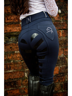 AIVER SPORT 4D- Breeches, NAVY